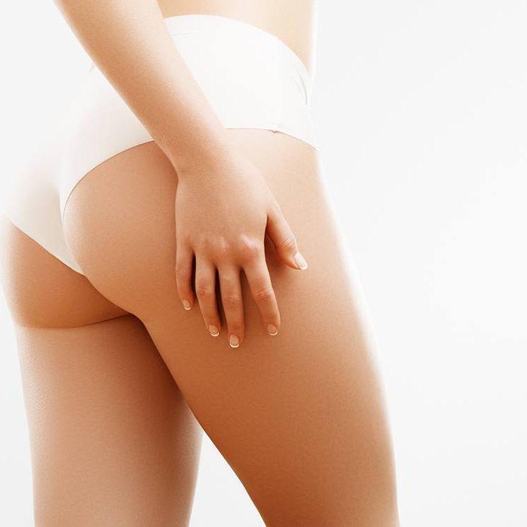 Pulsar IPL Hair Removal buttocks